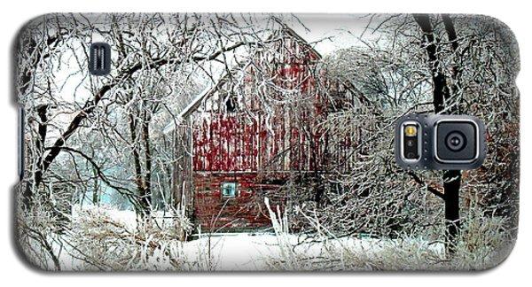 Card Galaxy S5 Case - Winter Wonderland by Julie Hamilton
