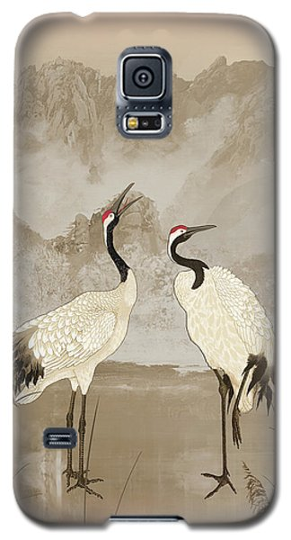 Wintering Manchurian Cranes Galaxy S5 Case