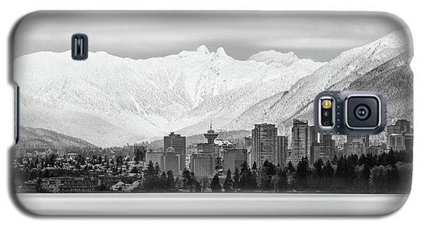 Winterscape Vancouver Galaxy S5 Case
