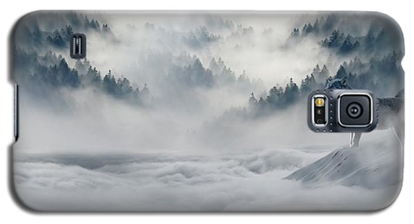 Wolfs In The Snow Galaxy S5 Case