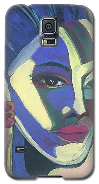 Woman Of Color Galaxy S5 Case