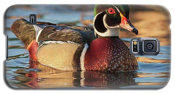 Wood Duck 4 Galaxy S5 Case
