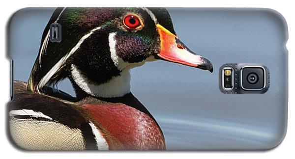 Wood Duck Portrait Galaxy S5 Case