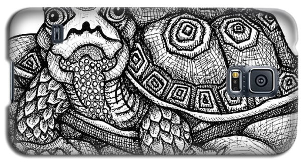 Wood Turtle Galaxy S5 Case