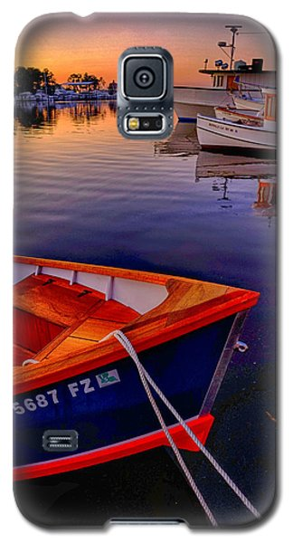 Wooden Boats Galaxy S5 Case