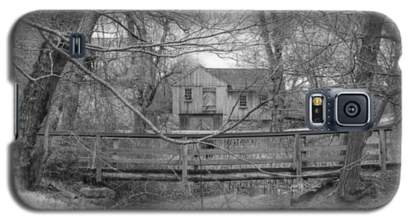 Wooden Bridge Over Stream - Waterloo Village Galaxy S5 Case