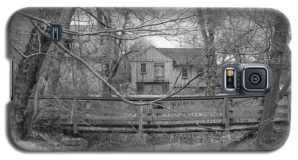 Wooden Bridge Over Stream - Waterloo Village Galaxy S5 Case