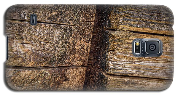 Wooden Wall Galaxy S5 Case