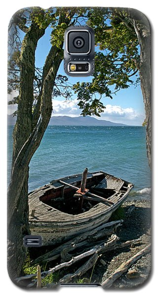 Wrecked Boat Patagonia Galaxy S5 Case