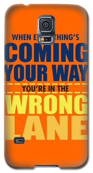 Wrong Lane Galaxy S5 Case