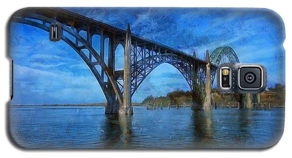 Yaquina Bay Bridge From South Beach Galaxy S5 Case