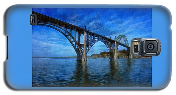 Yaquina Bay Bridge From South Beach Galaxy S5 Case