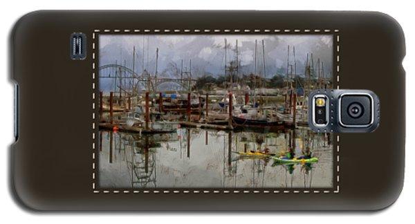 Yaquina Bay Kayaking Galaxy S5 Case