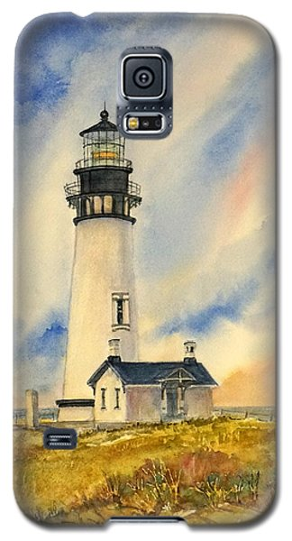 Yaquina Head - Late Afternoon Sunlight Galaxy S5 Case