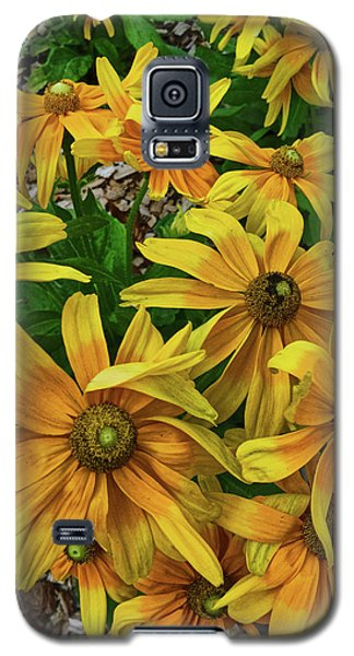 Yellow In Bloom Galaxy S5 Case