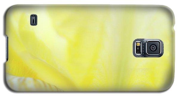Yellow Iris 3 Galaxy S5 Case