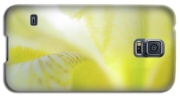 Yellow Iris 5 Galaxy S5 Case