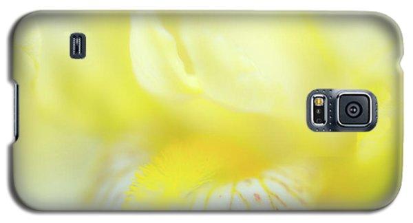 Yellow Iris 6 Galaxy S5 Case