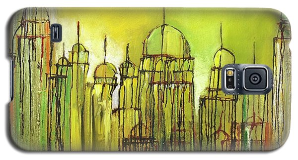 Yellow Mosque  Galaxy S5 Case
