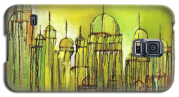 Yellow Mosque  Galaxy S5 Case