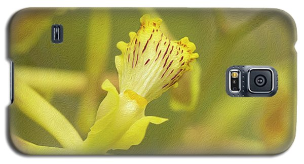 Yellow Orchid Galaxy S5 Case