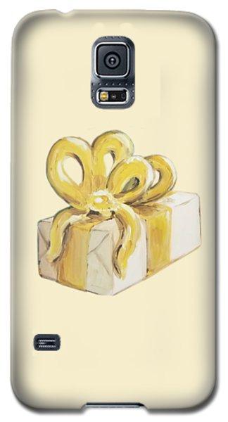 Yellow Present Galaxy S5 Case