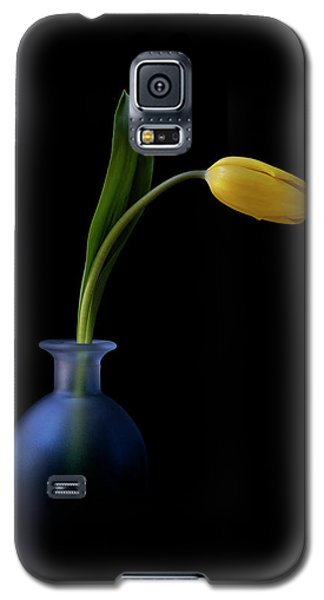 Yellow Tulip Galaxy S5 Case
