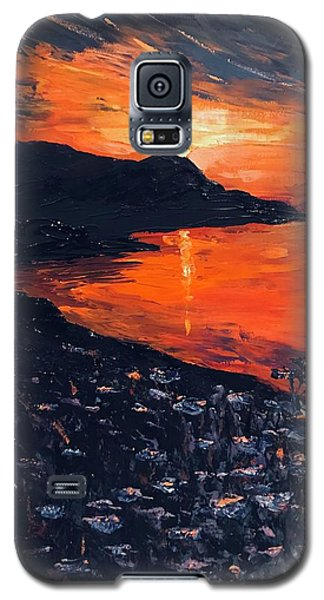 You Make The Sunset Shout For Joy Galaxy S5 Case