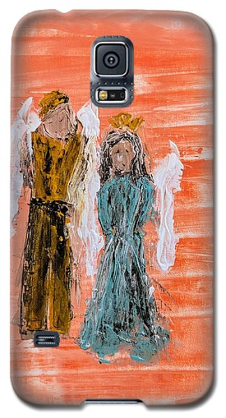 Young Love Angels Galaxy S5 Case