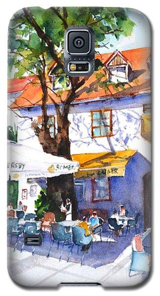 Zagreb Cafe #3 Galaxy S5 Case