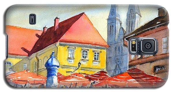 Zagreb Near Dolce Market Galaxy S5 Case
