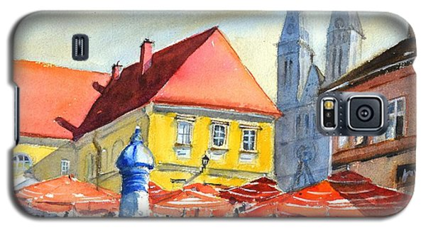 Zagreb Near Dolce Market Galaxy S5 Case