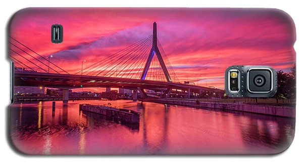 Zakim Bridge Sunset Galaxy S5 Case