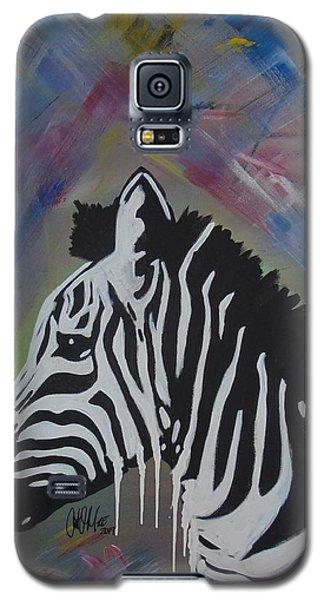 Zebra Drip Galaxy S5 Case
