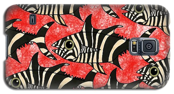 Zebra Fish 5 Galaxy S5 Case