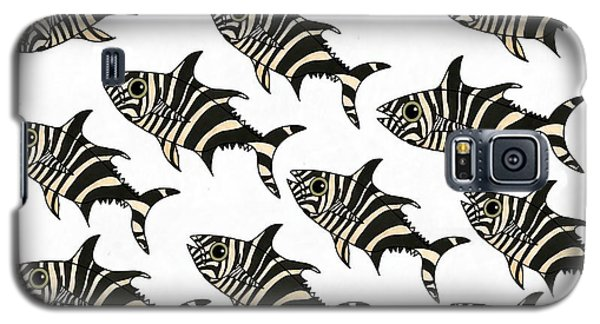 Zebra Fish 7 Galaxy S5 Case