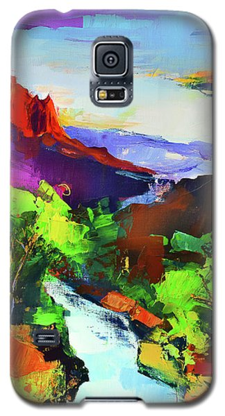 Zion - The Watchman And The Virgin River Galaxy S5 Case