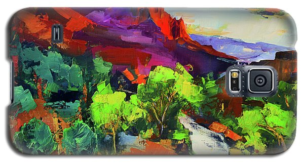 Zion - The Watchman And The Virgin River Vista Galaxy S5 Case