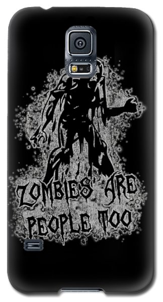 Zombies Are People Too Halloween Vintage Galaxy S5 Case