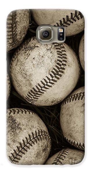 Baseballs Galaxy S6 Case by Diane Diederich