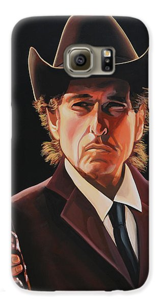 Bob Dylan 2 Galaxy S6 Case by Paul Meijering