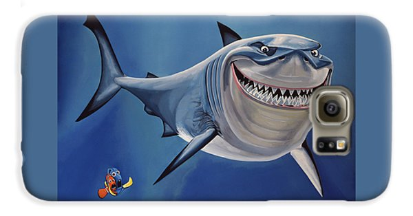 Nurse Shark Galaxy S6 Case - Finding Nemo Painting by Paul Meijering