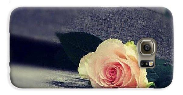 Decorative Galaxy S6 Case -  Gray In Romantik by Jacqueline Schreiber