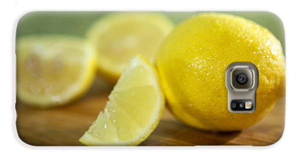 Lemon Citrus Limon Zitronen Galaxy S6 Case