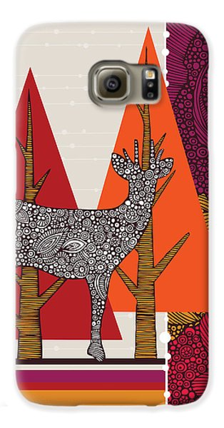 A Deer In Woodland Galaxy S6 Case