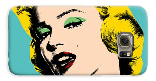 Andy Warhol Galaxy S6 Case by Mark Ashkenazi