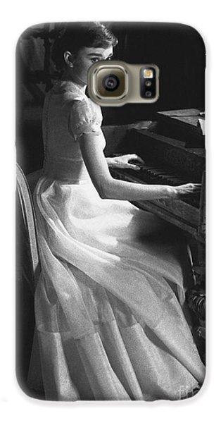 Audrey Hepburn Galaxy S6 Case by George Daniell