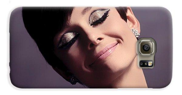 Audrey Hepburn Galaxy S6 Case by Mountain Dreams