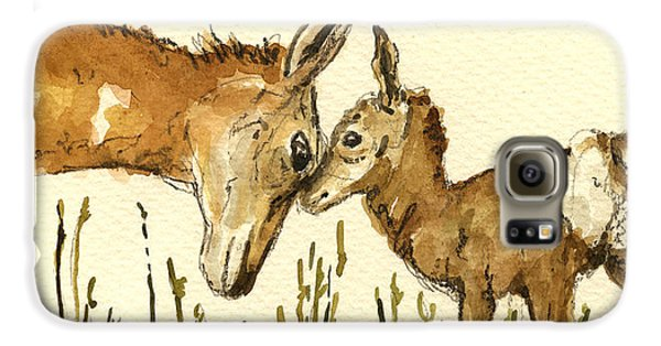 Bambi Deer Galaxy S6 Case by Juan  Bosco