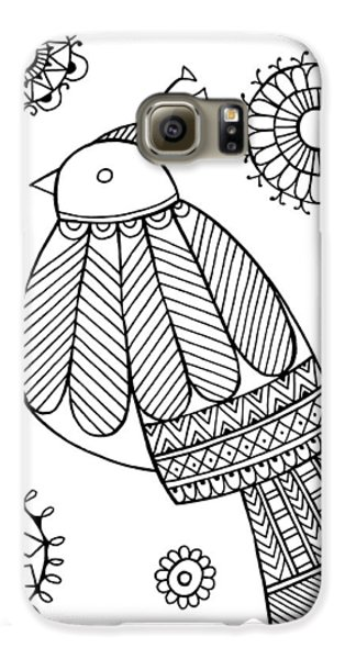 Bird Dove Galaxy S6 Case by Neeti Goswami